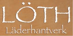 Löth läderhantverk logotyp