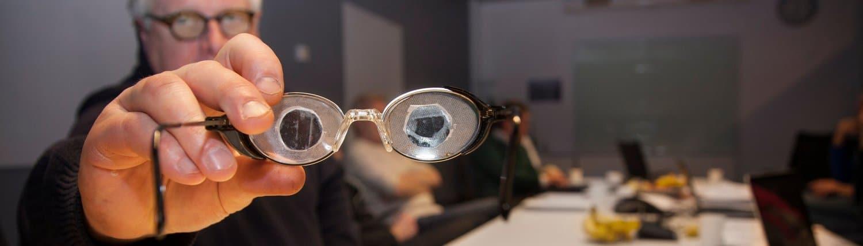 Bild på möte i LHON Eye Society
