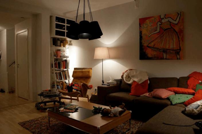 Ljusare vardagsrum