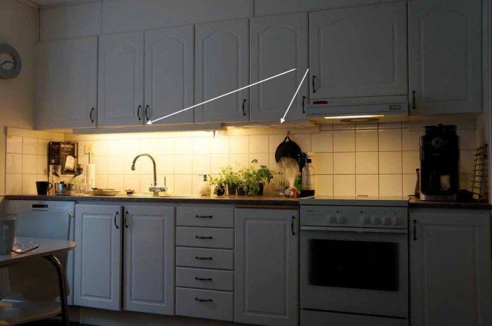 Belysning i kök