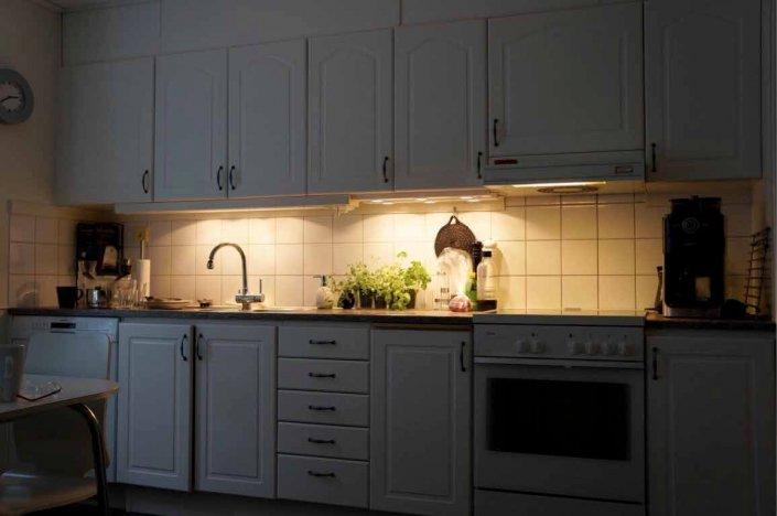 Bättre belysning i kök