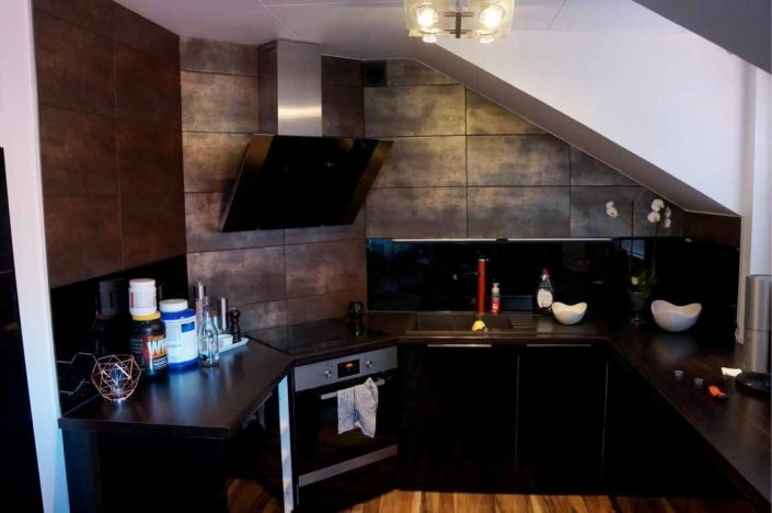 Dålig arbetsbelysning i kök