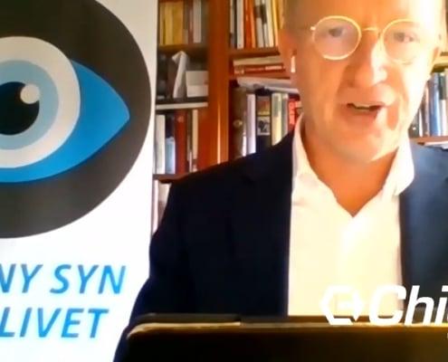 Lars Kinnunen på Mitokondriedagen 2020